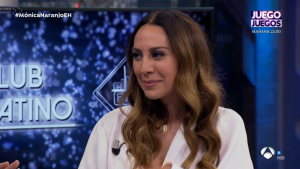 Mónica Naranjo se sentaba en 'El Hormiguero'