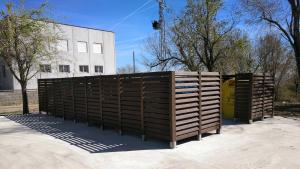 Nova àrea de recollida de residus de Figuerola del Camp.