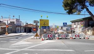 Obres al camí La Plana de Castelló