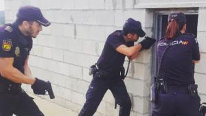 Operatiu de la Policia Nacional