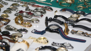 Part dels objectes intervinguts en el marc de l'operació Carcosa