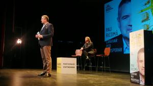 Pau Ricomà presenta la seva candidatura per ERC a l'alcaldia de Tarragona.