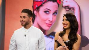 Pilar Rubio i Sergio Ramos al programa 'El Hormiguero'