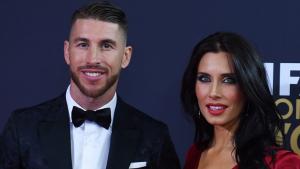 Pilar Rubio y Sergio Ramos en El Balón de Oro 2012, cuando se hizo oficial su relación de pareja