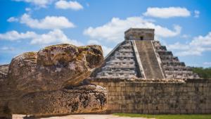 Pirámide de Chichen Itzá.