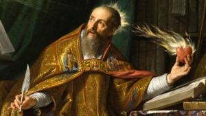 San Agustín de Hipona, uno de los filósofos medievales más influyentes.