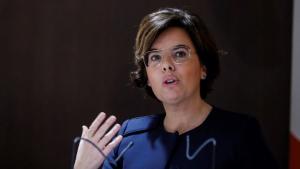 Soraya Sáenz de Santamaría, en una imatge d'arxiu