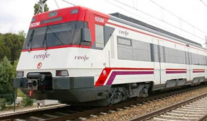 Tren de Rodalia avariat