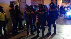 Un detingut en l'operatiu contra el narcotràfic al Raval