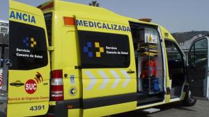 Ambulancia Servicio de Urgencias Canario