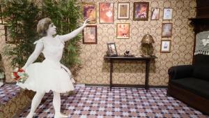 Un racó de l'exposició dedicada a la ballarina Roseta Mauri, muntada al Museu de Reus