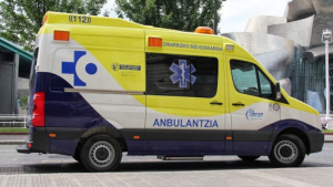 Una ambulantzia de País Vasco