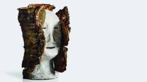 Una de les obres de l'exposició de Pere Español