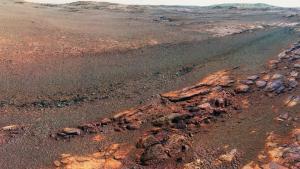 Una de les últimes imatges de Mart presa pel rover 'Opportunity'