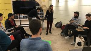 Una imatge de la sessió de presentació del programa Impulsa Cultura que s'ha fet aquest dijous al matí a l'Espai Turisme de Tarragona.