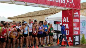 Una imatge de la sortida de la cursa de l'1 de maig de 2018 a Altafulla.
