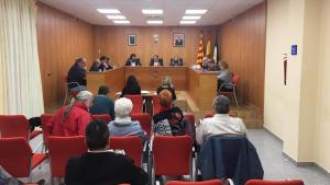 Una imatge del ple de Roda de Berà que es va celebrar aquest dijous, 14 de març, al vespre.