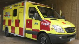 Ambulancia UME Murcia
