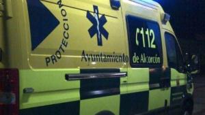 vehículo de urgencias de Alcorcón