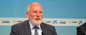 Vicepresident de la Comissió Europea i candidat socialdemòcrata, Frans Timmermans