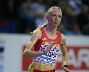 Zoya Naumov al seu debut a Glasgow 2019