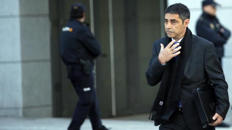 El major dels mossos està vivint una situació difícil en l'àmbit professional