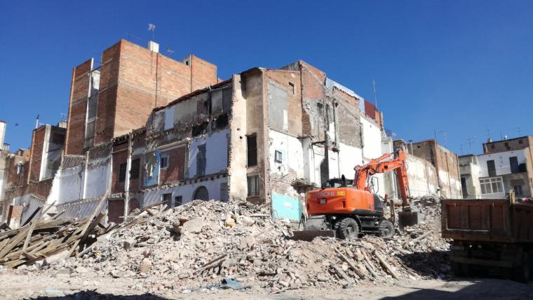 El pla urbanístic del barri del Carme hi preveu tornar a aixecar pisos