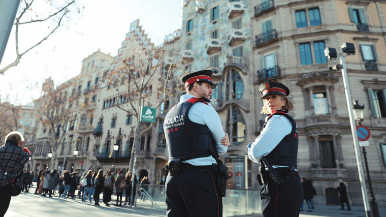 Els Mosos van poder detenir els lladres de rellotges de Barcelona