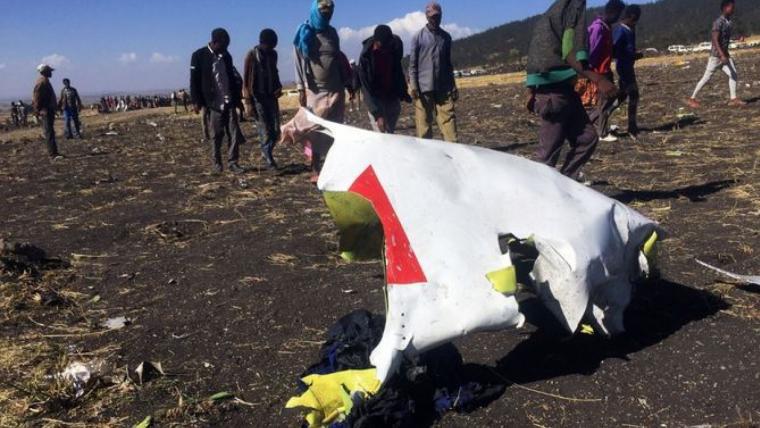 Avió estavellat a Etiòpia