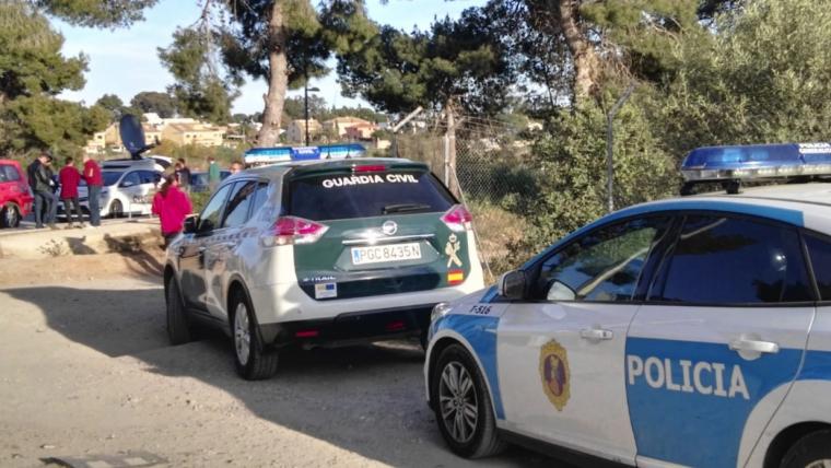 Important desplegament policial per intentar localitzar als dos menors desapareguts