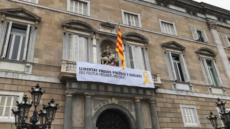 Imatge exterior de la façana de la Generalita