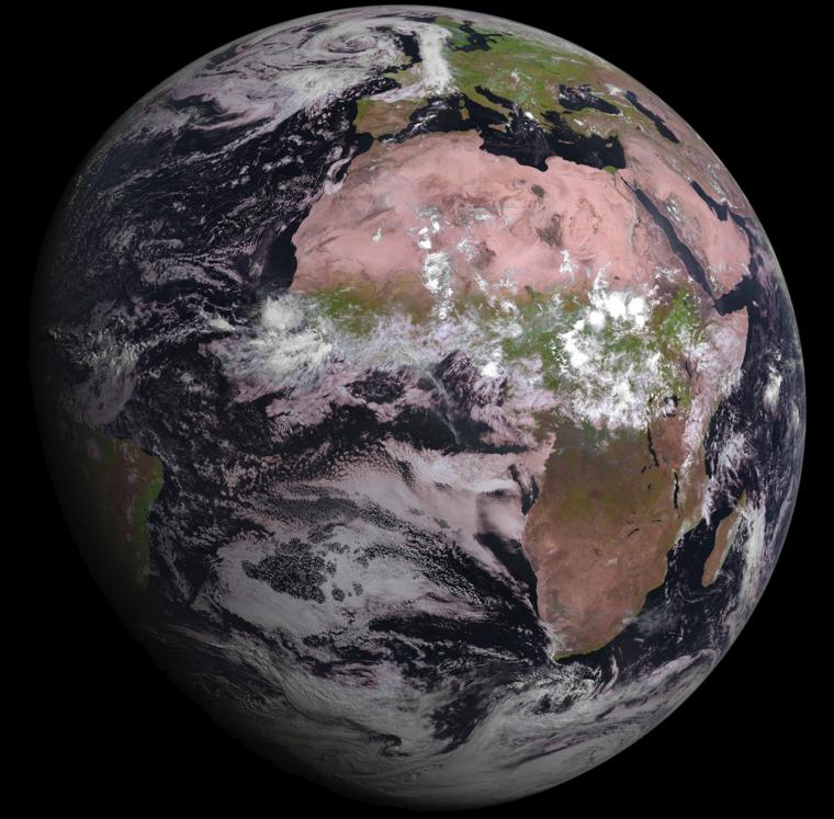Imatge Terra MSG-4