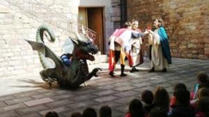 Acte de Sant Jordi al Museu Palau Mercader