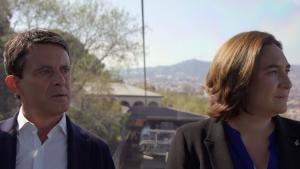Ada Colau i Manuel Valls han tingut un intens debat al programa de Jordi Èvole