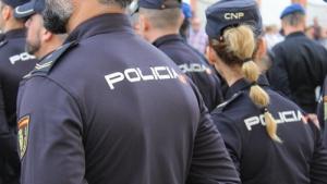 Agents de la policia nacional espanyola