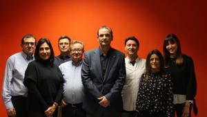 Agustín Robles, Carmen Ortuño, David Aguinaga, Ramón Moya, Javier González, Patricio Cervilla, Cynthia Ramírez i Isabel Martínez.
