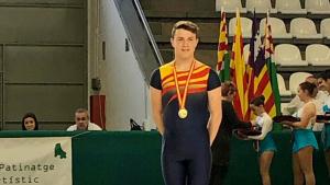 Aleix Bou, guanyador d'Espanya de la categoria cadet