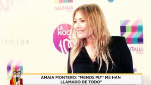 Amaia Montero afirma que le han llamado de todo