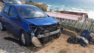 Aparatós accident al Fortí de Sant Jordi de Tarragona