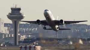 Avió a l'aeroport de Barajas