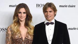 Carlos Baute y Astrid Klisans.
