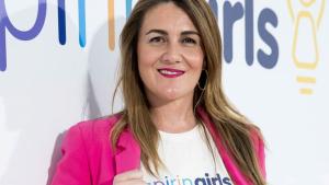 Carlota Corredera, en un acto de la Fundación Inspiring Girls