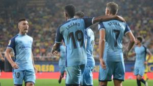 Cristhian Stuani va decidir el duel de la primera volta entre el Vila-real i el Girona (0-1).