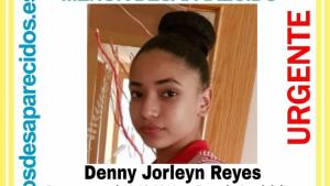 Denny Jorleyn, menor de 14 años desaparecida en Pozo de Guadalajara