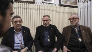 D'esquerra a dreta, Antoni Martra, Lluís Sirolla i Joan Maria Torné