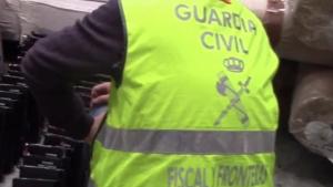 Detinguts per la Guàrdia Civil per intentar entra cocaina a Barcelona