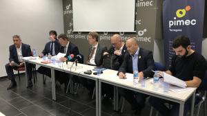 El debat s'ha celebrat aquest dimarts al matí a la seu de PIMEC a Tarragona.