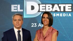 El debate iba a ser conducido por Ana Pastor y Vicente Vallés