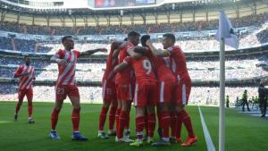 El Girona ha guanyat els tres partits de lliga que ha disputat fins ara a la Comunitat de Madrid.