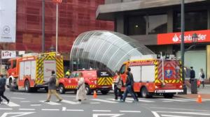 El hombre ha fallecido tras ser arrollado por el metro